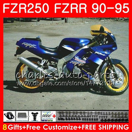 $enCountryForm.capitalKeyWord NZ - FZRR For YAMAHA FZR250R FZR 250R FZR250 90 91 92 93 94 95 124HM.33 FZR 250 FZR-250 1990 1991 1992 1993 1994 1995 Glossy blue frame Fairings