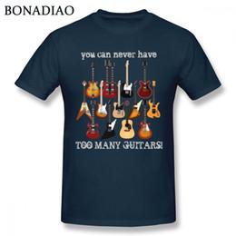 $enCountryForm.capitalKeyWord UK - Fashion Electric Guitar Tee Shirt Male Big Size Music Style T Shirt Y19060601