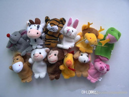 $enCountryForm.capitalKeyWord Australia - Wholesale-Chinese Zodiac Finger Puppets 12pcs lot Animals Cartoon Finger Puppet For Kids Plush Toys Hand Dolls Pig Dog Fantoche