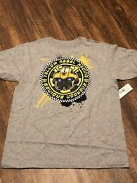 Engines 12 Australia - Bumblebee New Energon Engines Yellow Rebel Racing T-shirt Sz 12 14