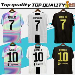 f4180e1fe856c Nuevo 2019   7 RONALDO JUVENTUS Soccer Jersey 18 19 JUVE tercer equipo de  casa Hombres Mujer   10DYBALA Camiseta de fútbol MANDZUKIC Equipo de  uniformes de ...