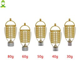 $enCountryForm.capitalKeyWord Australia - Lures JSM 5 pcs lot 30g-80g carp Fishing Feeder tackle for fish food holder Cage with lead sinker for ice
