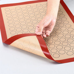 $enCountryForm.capitalKeyWord Australia - 42*29.5cm Non-stick Cooking Mat Liner for Macaron Cake Bread Making Microwave Toaster macaroon silicone baking mat