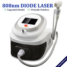 2019 best professional laser hair removal machine 808nm diode laser full body hairs treatment for all skin types no no hair removal on Sale