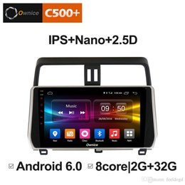 "Discount toyota land cruiser screen - 10.1"" 2.5D Nano IPS Screen Android Octa Core 4G LTE Car Media Player With GPS RDS Radio Bluetooth For Toyota Land C"