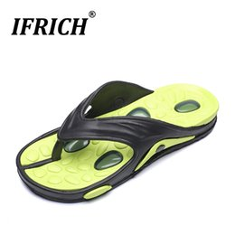 Slippers Summer Shoes Adult Australia - Popular Platform Flip Flops Man Summer Adult Casual Shoes Comfortable Massage Man Flip Flops Hard-Wearing Casual Beach Slippers