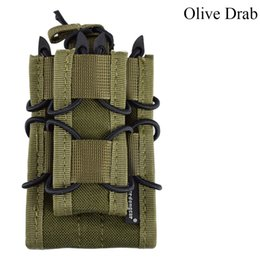 $enCountryForm.capitalKeyWord UK - Airsoft Hunting Mag 5.56 9mm Magazine nylon bag MOLLE multicam camouflage Pouch Double Decker Magazine Pouch
