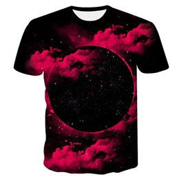 5fa03cfdf Space Galaxy T-shirt For Men 3d T-shirt Funny Printing Cat Horse Shark  Cartoon Fashion Summer T Shirt Tops Tees Plus Size