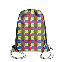 Chain Hot Boys UK - Drawstring Sports Backpack Freddie Mercury Queen Hot Space vintage adjustable athletic Travel Fabric Backpack