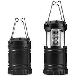 Vente en gros 30 ampoules LED lanterne portable 60lumens pliable lampe tente étanche camping en plein air randonnée lumière main éclairage lanternes économie d'énergie