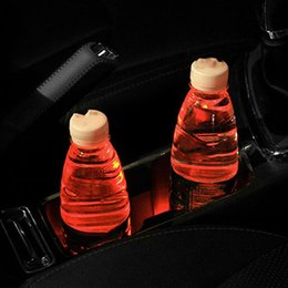 Portable car cuP holder online shopping - 2pcs Holder Pad Auto Car Cup Pad Trim Energy Portable Holder Car Styling