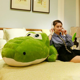 $enCountryForm.capitalKeyWord Australia - 2019 New Giant Cartoon Alligator Plush Toy Big Stuffed Animal Crocodile Plush Doll Pillow for Children Friend Gift Decoration