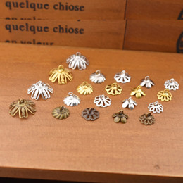 $enCountryForm.capitalKeyWord Australia - heap Findings & Components 20pieces 8.5 10mm 15mm flower beads cap pendant connector accessories jewelry findings handmade diy mate...