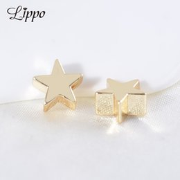 $enCountryForm.capitalKeyWord NZ - bead wholesale 30pcs Wholesale 6mm 8mm Bead Gold Color plated Beads Star Jewerly Accessories beads gold