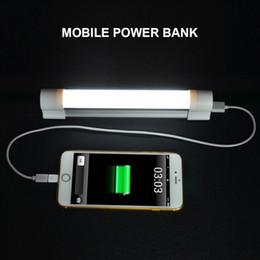 Опт Новый аварийный светильник для наружного освещения Аккумуляторная переносная 3-уровневая регулируемая яркость USB-зарядка Режим SOS Трубка для наружного освещения
