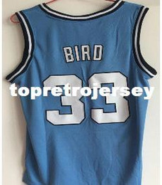 $enCountryForm.capitalKeyWord Canada - Cheap Mens Indiana State Sycamores Larry Bird #33 Blue Basketball Jerseys Embroidery New Materials Stitching Shirt Custom any Number