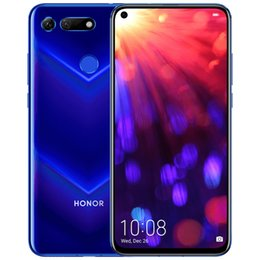 "huawei smart phones honor 2019 - Original Huawei Honor V20 4G LTE Cell Phone 8GB RAM 128GB 256GB ROM Kirin 980 Octa Core Android 6.4"" Full Screen 48"