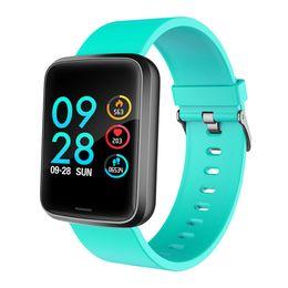 Door watch online shopping - Blood Pressure Multifunctional Heart Rate Monitor Smart Watch Door Card Sport Screen Health Care Message Fitness Tracker