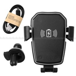 "$enCountryForm.capitalKeyWord Australia - QI Wireless Charging Car Mount Gravity Auto Lock Phone Holder For 4""-6"" Phone JUL26 drop ship"