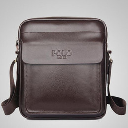 5e169b84c3746 Wholesale- Men Crossbody Bag Polo Nice Fashion Men Messenger Bag Designer Famous  Brand Shoulder Bag Business Briefcase For Men