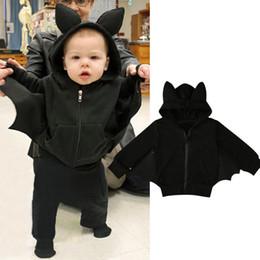 $enCountryForm.capitalKeyWord Australia - Kids Jacket Unisex Hooded Coat Fashion Batman Zipper Sweatshirt Jacket Baby Boy Girl Coats