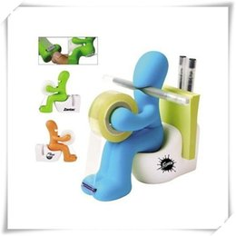$enCountryForm.capitalKeyWord Australia - Office Products Pen Holder Office Accessory Butt Station Office Station Desk Tape Dispenser Pen Memo Holder Clip Storage Free Shipping