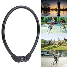 $enCountryForm.capitalKeyWord Australia - Bike Bicycle Anti-Theft Lock 4 Digital Combination Code Password Cable Lock Strong for MTB Road Bicycle Motorcycle #158710