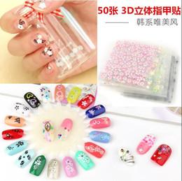 Großhandel 30 Blatt Schneeflocke Bögen 3D Nail Art Sticker Maniküre Aufkleber Tipps DIY Weihnachtsgeschenke