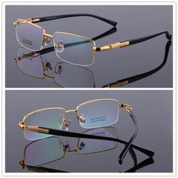 d5a2c40d976c Lightweight titanium eyegLass frames online shopping - Men Titanium Eyeglass  Frame Spectacle Frame Half rim Eyewear