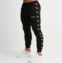 237e8bc31075 sexy cotton pants Fitness exercise gym Casual Slim Sports Fit Trousers  Tracksuit Bottoms Skinny Joggers Sweat Drwastring Track Pants