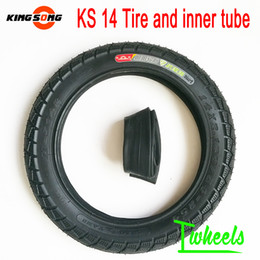 ElEctric sparE parts online shopping - Original King song KS14s D tire inner tube electric unicycle outer tire spare parts