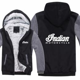$enCountryForm.capitalKeyWord Australia - Indian Motorcycle Hoodies Winter Men Fashion Wool Liner Jacket Indian Motorcycle Sweatshirts Men Coat HS-008