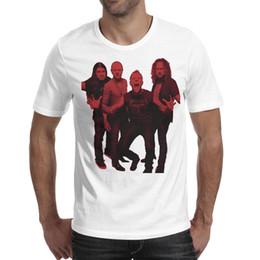 $enCountryForm.capitalKeyWord UK - American heavy metal band Metallica Printed Men's T-Shirts Unique Comfy Crew Neck Short Sleeve Tee