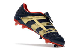 $enCountryForm.capitalKeyWord Canada - Hot Sale Top Quality Dark Blue Gold Football Boots Dream Back 98 Predator Accelerator Electricity FG IC Soccer Shoes Soccer Cleats