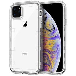 China For Iphone 11 Case Clear 3in1 Heavy Duty Full-Body Protection Cover Phone Case for iPhone 11 Pro Max cheap phone plastics suppliers