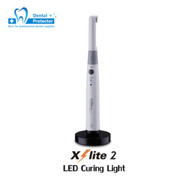 THREEH 3H X-Lite2 беспроводной светодиоды с широким спектром отверждения зубов Стоматологическая УФ-лампа для отверждения смолы 3 'Cured на Распродаже