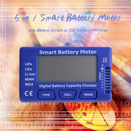 force tester Australia - 5 in 1 Smart Battery Meter With Balance Discharge ESC Servo PPM Tester arrvial Hot Selling