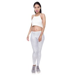 fitness girls leggings NZ - Woman Leggings Gray Polygon 3D Graphic Full Print Casual Sport Trousers Lady Runner Pencil Pants Girl Fitness Stretchy Pencil Fit (Y52059)