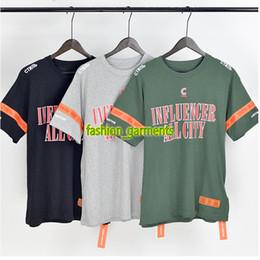 9f16b4fbffb HERON PRESTON Joint NASA Street Hip-Hop Short-sleeved Cranes Loose Casual  Luxury Short-sleeved T-shirt Men Women Designer Fashion Shirt