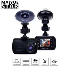 Night visioN hiddeN online shopping - Maiyue star full HD P car DVR1 inch IPS screen hidden sprint camera night vision G sensor rearview mirror camera