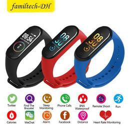 $enCountryForm.capitalKeyWord Australia - M4 Smart Band Bracelet Heart Rate Watch Activity Fitness Tracker pulseira Relógios reloj inteligente PK fitbit XIAOMI Apple watch