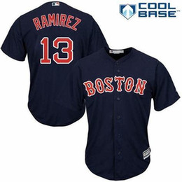 $enCountryForm.capitalKeyWord Australia - Customized Boston Red 2019 #Hanley Ramirez Sox Embroidery Baseball Jersey Free Delivery