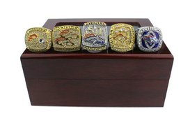 tin boxes wholesale NZ - 2020 Super Bowl new Wooden Box Set Sunday Mustang Championship Ring