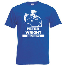 aa76677c Snakebite Peter Wright Darts Blue T-Shirt S-XXL World Champs 2019  unofficial Funny free shipping Unisex Casual