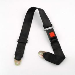 $enCountryForm.capitalKeyWord Australia - Universal Car Vehicle Seat Belt Extension Extender Strap Safety Two Point Adjustable Belt Length Black EEA307