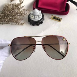 $enCountryForm.capitalKeyWord Australia - SELL fashion High Quality Classic c Pilot Sunglasses Brand Men Women Sun Glasses tom Eyewear Gold Metal Glass Lenses Case bag belt gg 1103