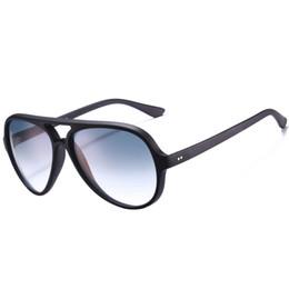 7b83e36362b64 Luxury resin online shopping - 4125 aviation brand sunglasses luxury  designer sun glasses Unisex Cats Flash