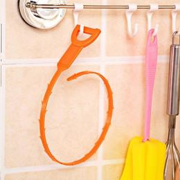 $enCountryForm.capitalKeyWord Australia - Drain Cleaner Sticks Kitchen Toilet Bathtub Hair Removal Sewage Decontamination To Deodorant Sewer Sink Filter Strainer Cleaning Tool YW3080