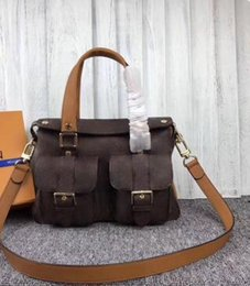Latest Leather Bags Australia - 2019 latest ladies handbag high quality leather piece set female handbag Messenger bag letter bag, free shipping