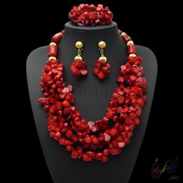 cheap indian bridal jewelry NZ - Yulaili Fashion Wedding Custom Africa Bridal Handmade Necklace Bracelet Dangle Earrings Bridal Jewelry Sets Wholesales Cheap Jewelry
